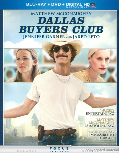 Dallas Buyers Club (Blu-ray + DVD + UltraViolet)