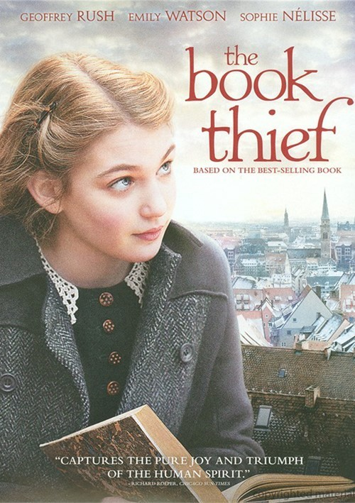 Book Thief Cover Art : Book thief the dvd empire
