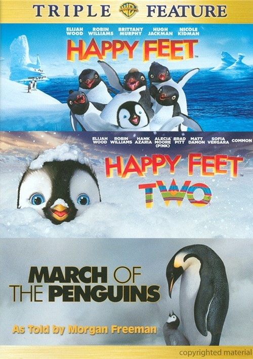 Happy Feet / Happy Feet 2 / March Of The Penguins (Triple Feature)