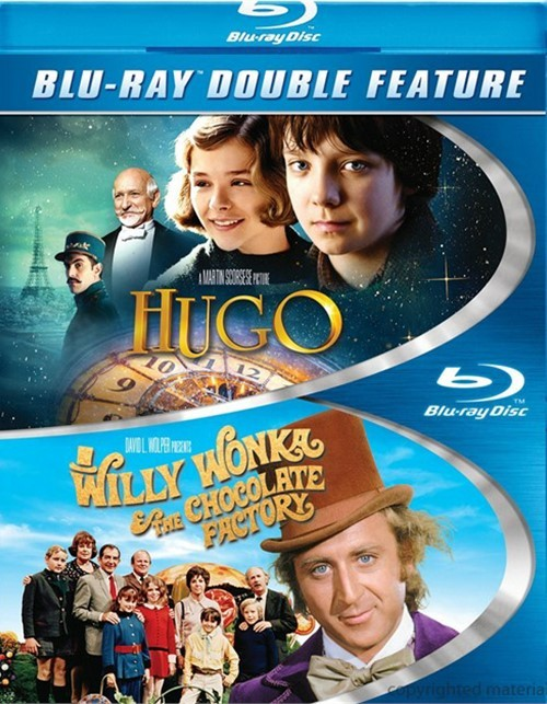 Hugo / Willy Wonka & The Chocolate Factory (Double Feature)