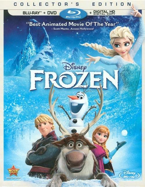 Frozen (Blu-ray + DVD + Digital Copy)