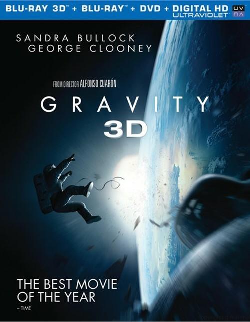 Gravity 3D (Blu-ray 3D + Blu-ray + DVD + UltraViolet)