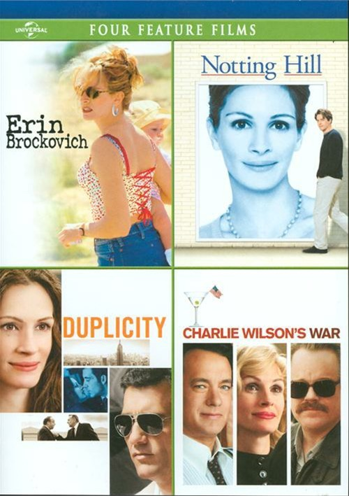 Erin Brockovich / Notting Hill / Duplicity / Charlie Wilsons War