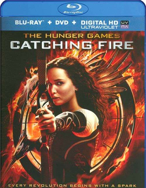 Hunger Games, The: Catching Fire (Blu-ray + DVD + UltraViolet)
