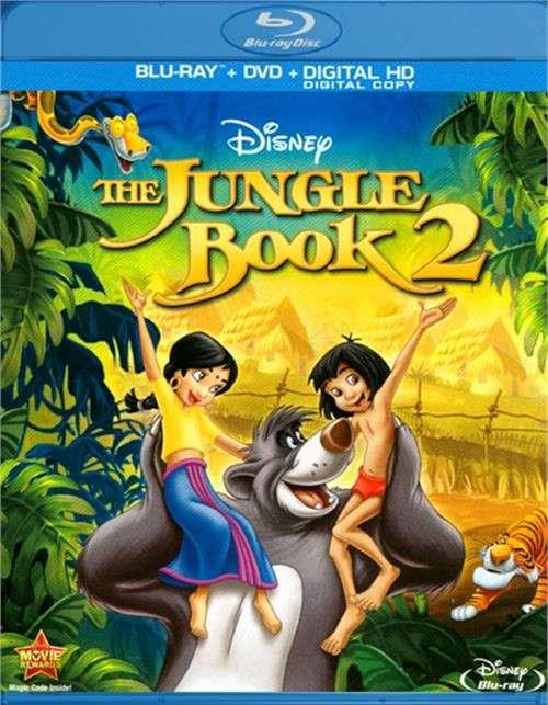 Jungle Book 2, The (Blu-ray + DVD + Digital Copy)