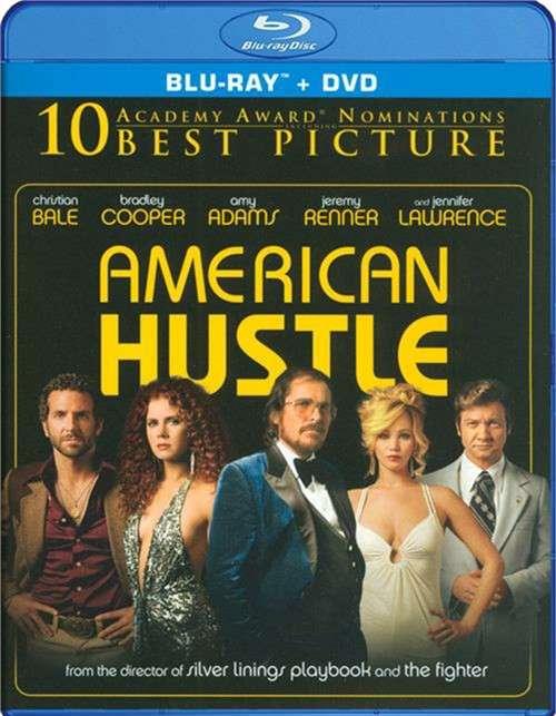 American Hustle (Blu-ray + DVD + UltraViolet)