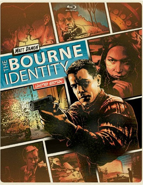 Bourne Identity, The (Steelbook + Blu-ray + DVD + UltraViolet)