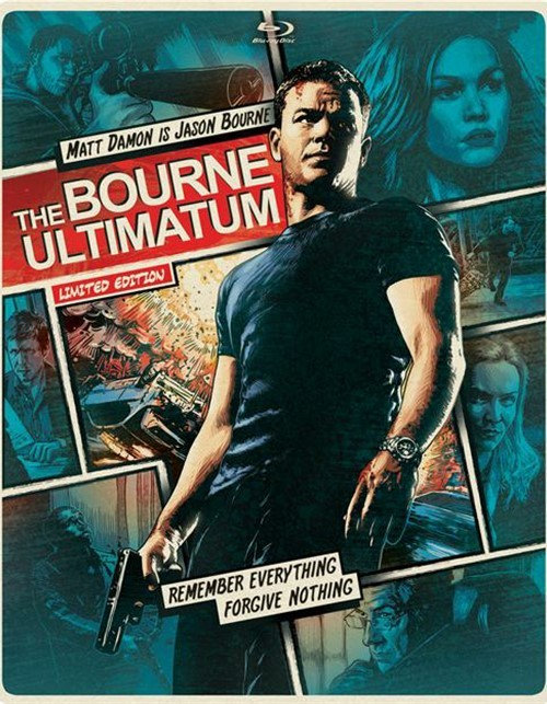 Bourne Ultimatum, The (Steelbook + Blu-ray + DVD + UltraViolet)