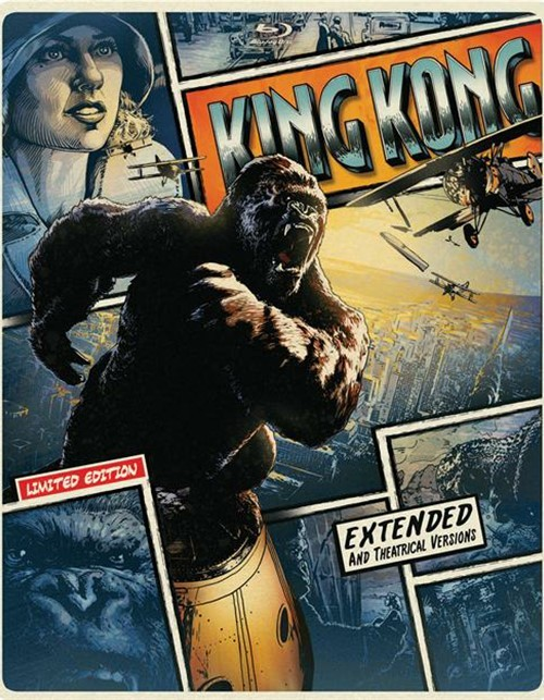 King Kong (Steelbook + Blu-ray + DVD + UltraViolet)