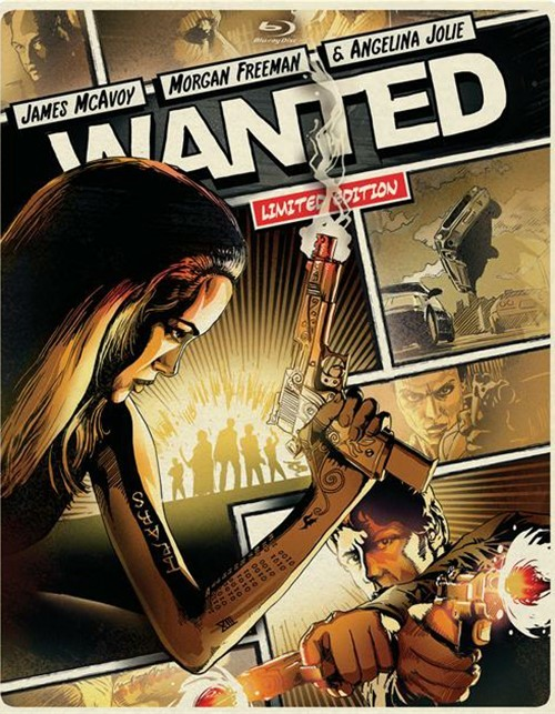 Wanted (Steelbook + Blu-ray + DVD + UltraViolet)