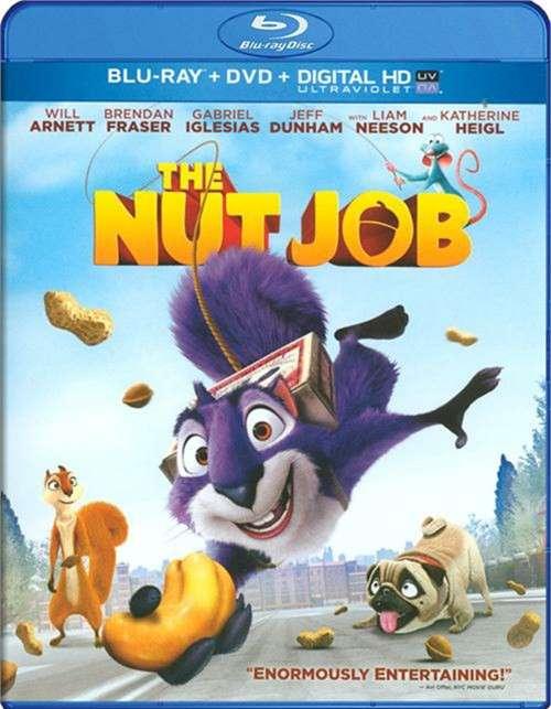 Nut Job, The (Blu-ray + DVD + UltraViolet)