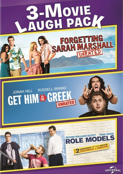 Forgetting Sarah Marshall / Get Him To The Greek / Role Models (3 Movie Laugh Pack)