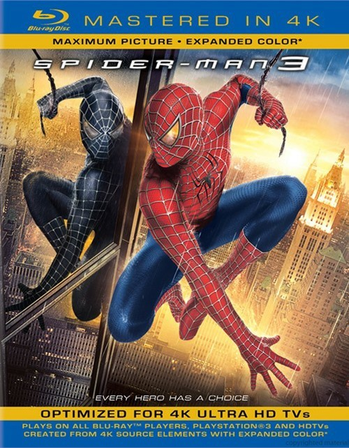 Spider-Man 3 (Blu-ray + UltraViolet)