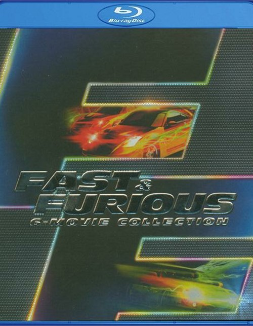 Fast & Furious: 6 Movie Collection (Blu-ray + UltraViolet)