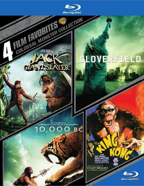 4 Film Favorites: Colossal Monster Collection