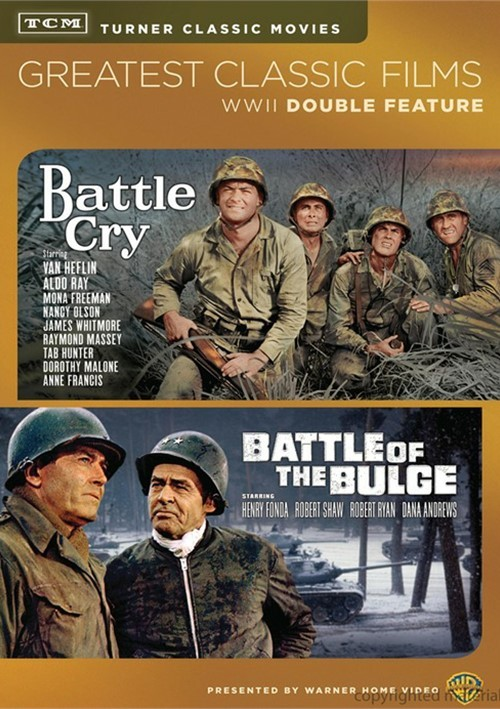 TCM Greatest Classic Films: Battle Of The Bulge / Battle Cry (Double Feature)