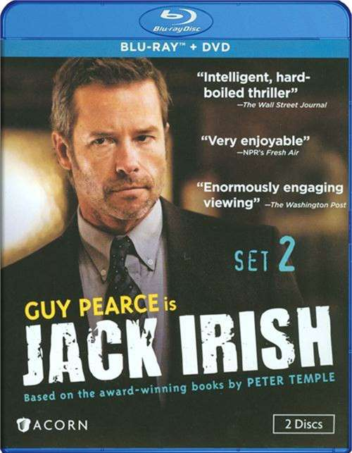 Jack Irish: Set Two (Blu-ray + DVD Combo)