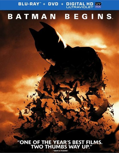 Batman Begins (Blu-ray + DVD + UltraViolet)