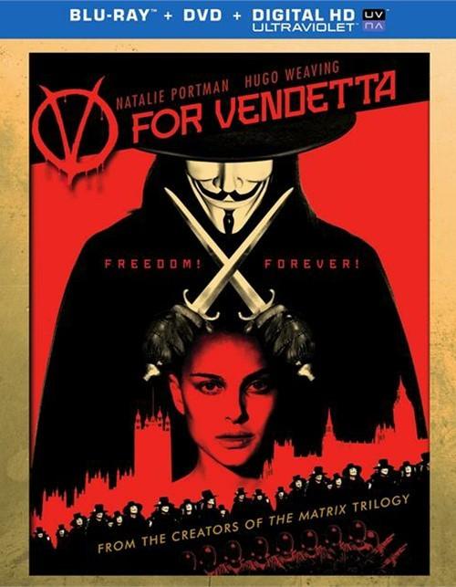 V For Vendetta (Blu-ray + DVD + UltraViolet)