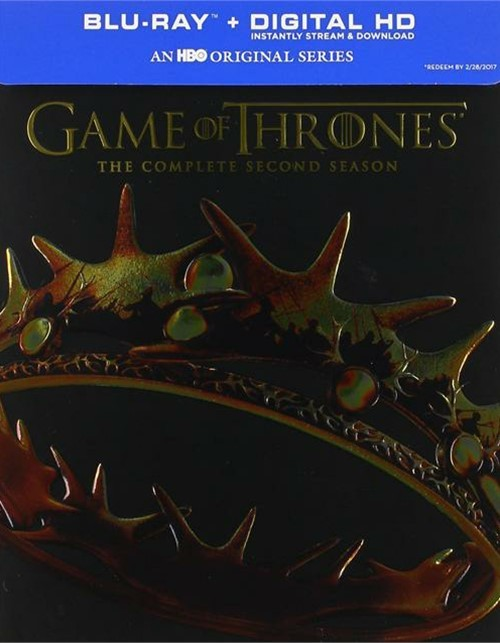 Game Of Thrones: The Complete Second Season (Blu-ray + Digital Copy)