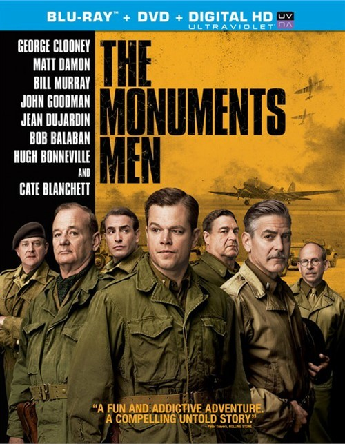 Monuments Men, The (Blu-ray + DVD + UltraViolet)