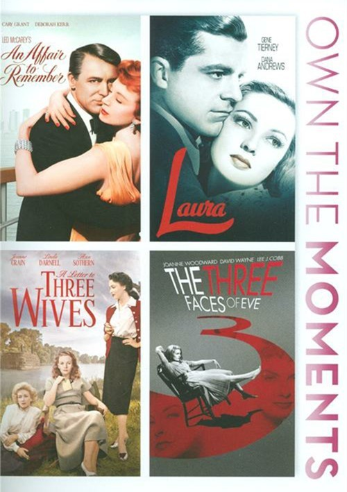An Affair To Remember / Laura / A Letter To Three Wives / The Three Faces Of Love (4-Film Collection)
