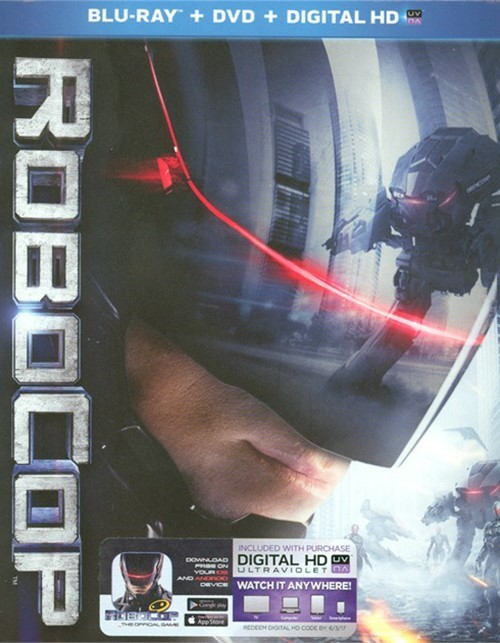 RoboCop (Blu-ray + DVD + UltraViolet)
