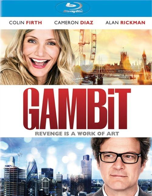 Gambit (Blu-ray + UltraViolet)