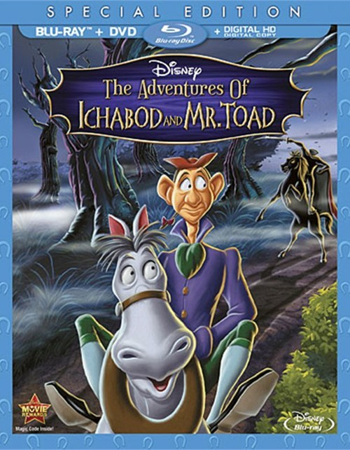 Adventures Of Ichabod And Mr. Toad, The: Special Edition (Blu-ray + DVD + Digital Copy)