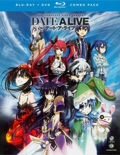 Date A Live: The Complete First Season (Blu-ray + DVD Combo)
