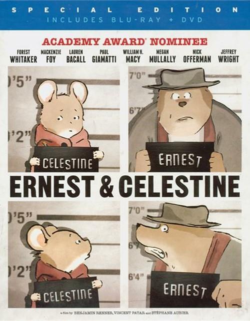 Ernest & Celestine (Blu-ray + DVD Combo)