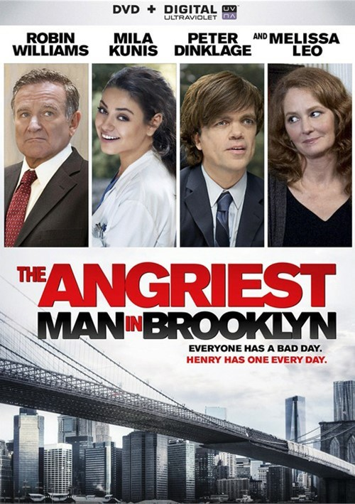 Angriest Man In Brooklyn, The (DVD + UltraViolet)