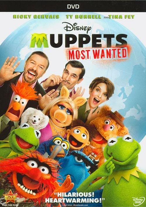 Muppets Most Wanted Dvd 2014 Dvd Empire