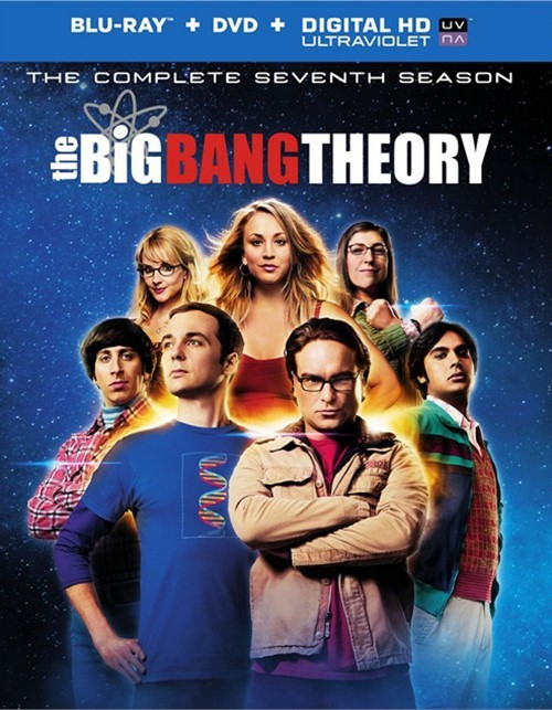 Big Bang Theory, The: The Complete Seventh Season (Blu-ray + DVD + UltraViolet)