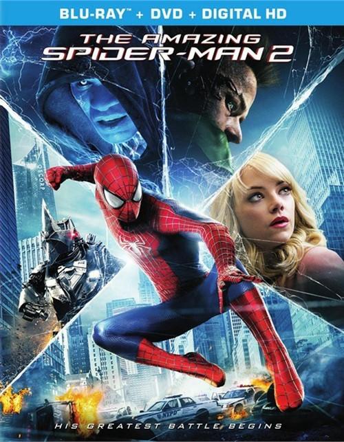 Amazing Spider-Man 2, The (Blu-ray + DVD + UltraViolet)