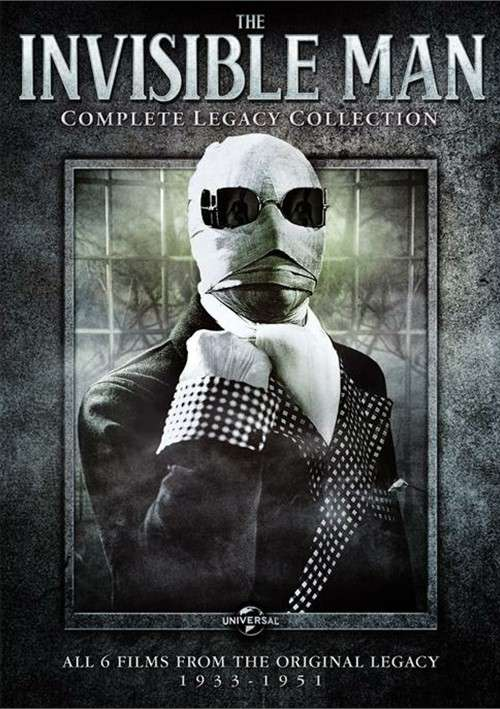 Invisible Man, The: Complete Legacy Collection