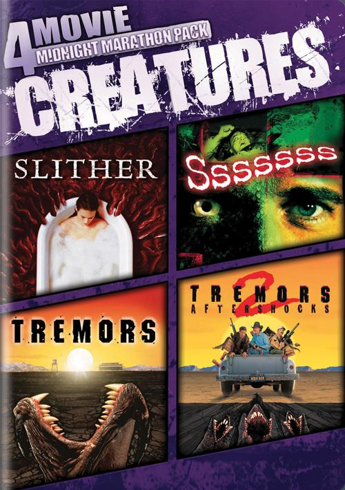 4-Movie Midnight Marathon Pack: Creatures