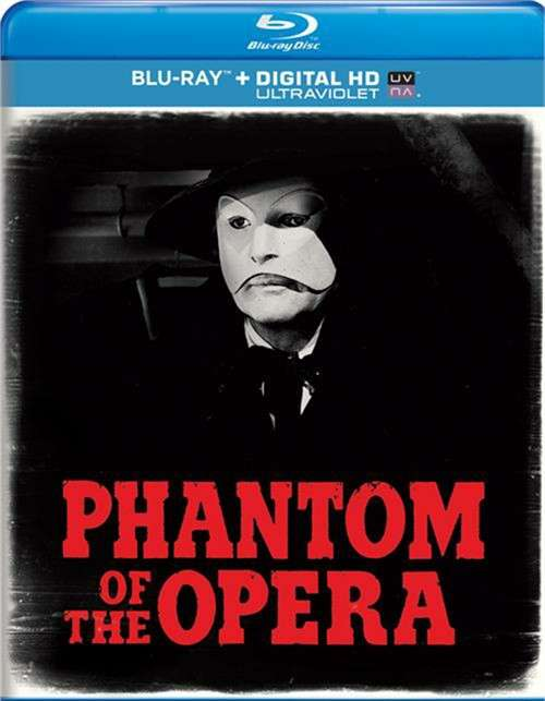 Phantom Of The Opera (Blu-ray + UltraViolet)