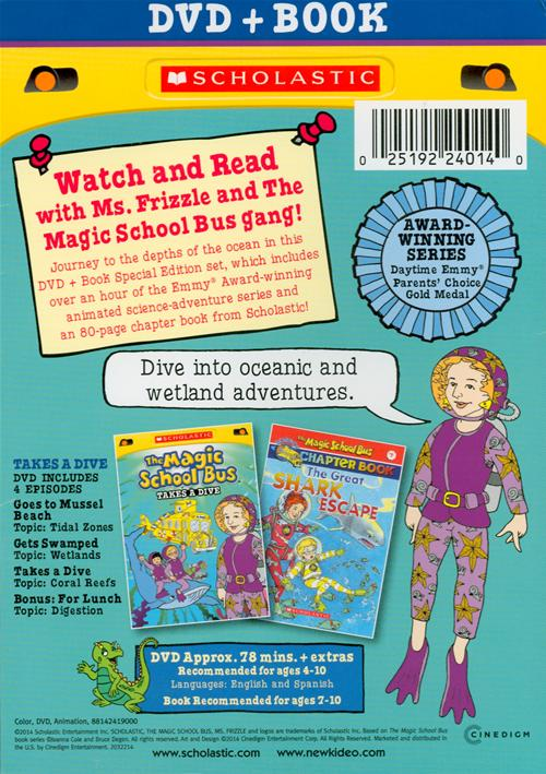 Scholastic's the magic school bus takes a dive   Open Library