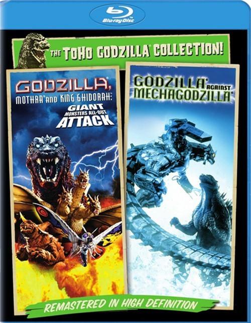 Godzilla Against Mechagodzilla / Godzilla, Mothra And King Ghidorah: Giant Monsters All-Out Attack