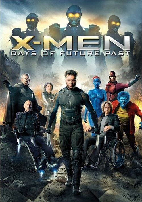 X-Men: Days Of Future Past (DVD 2014) | DVD Empire | 500 x 709 jpeg 111kB