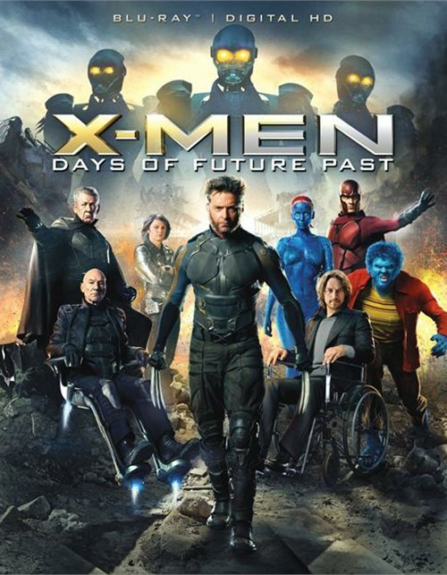 X-Men: Days Of Future Past (Blu-ray + UltraViolet)