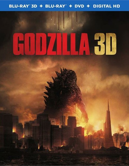 Godzilla (Blu-ray 3D + Blu-ray + DVD + UltraViolet)