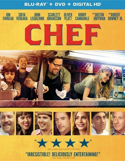Chef (Blu-ray + DVD + UltraViolet)