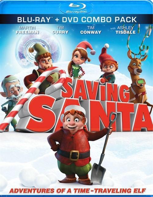 Saving Santa (Blu-ray + DVD Combo)