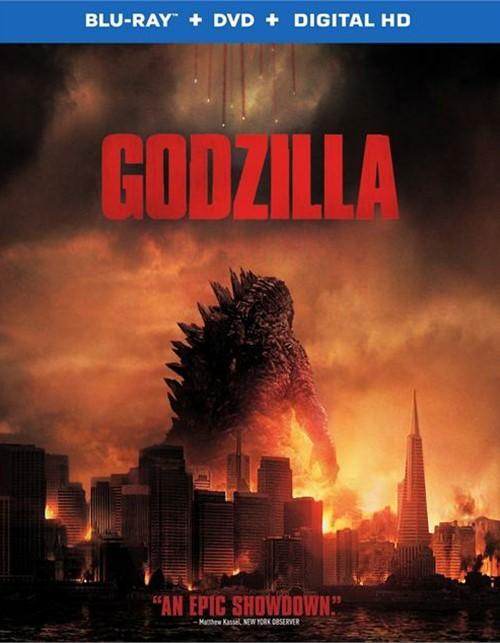 Godzilla (Blu-ray + DVD + UltraViolet)