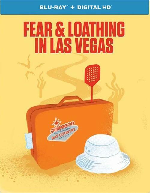 Fear & Loathing In Las Vegas (Steelbook + Blu-ray + UltraViolet)