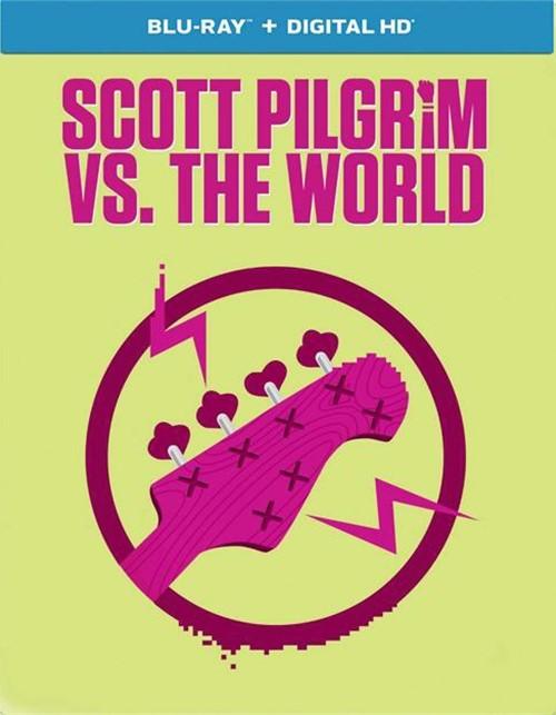 Scoot Pilgrim Vs. The World (Steelbook + Blu-ray + UltraViolet)