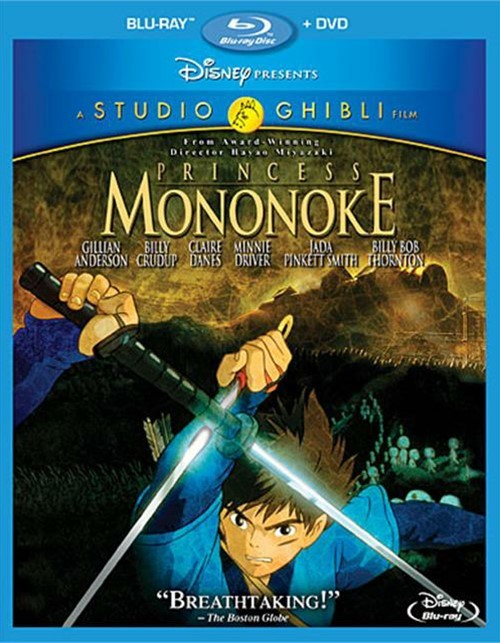 Princess Mononoke (Blu-ray + DVD Combo)