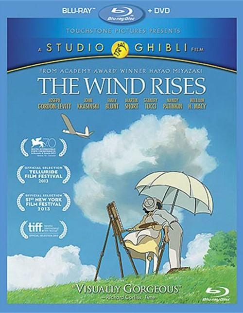 Wind Rises, The (Blu-ray + DVD Combo)